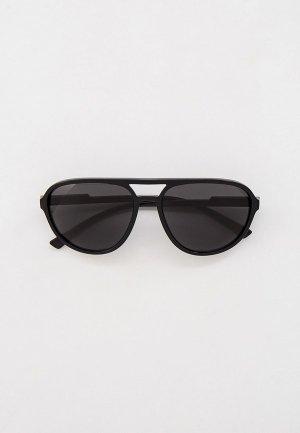 Очки солнцезащитные Dolce&Gabbana DG6150 501/87. Цвет: черный