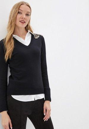 Пуловер Love Republic. Цвет: черный