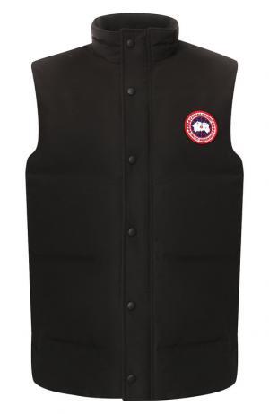 Пуховый жилет Garson Vest Canada Goose. Цвет: чёрный