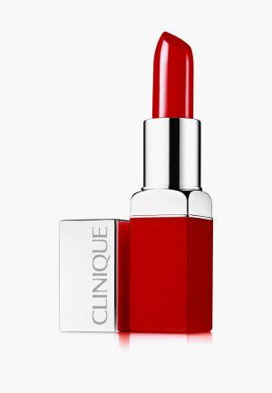 Помада Clinique CL Pop, Passion, 3.9 гр. Цвет: красный