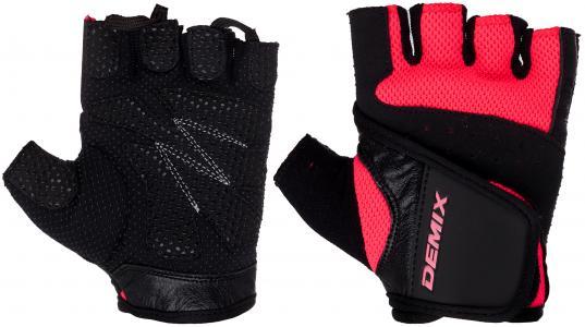 Перчатки для фитнеса Demix. Цвет: розовый
