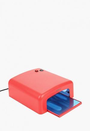 Лампа для маникюра Runail Professional Прибор ультрафиолетового излучения 36 Вт, мод. GL-515. Цвет: красный