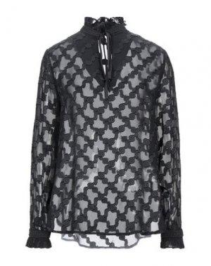Блузка COMPAGNIA ITALIANA. Цвет: черный