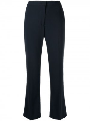 Укороченные расклешенные брюки Aspesi. Цвет: черный