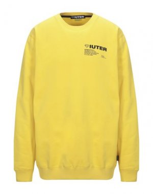Толстовка IUTER. Цвет: желтый
