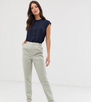 Чиносы ASOS DESIGN Tall-Зеленый Tall