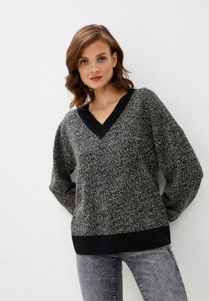 Пуловер UNQ. Цвет: серый