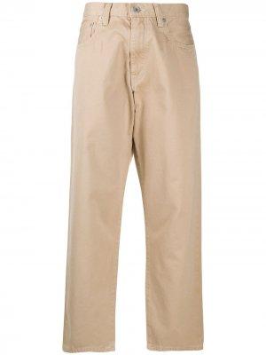 Maryya брюки чинос широкого кроя Ma'ry'ya. Цвет: нейтральные цвета