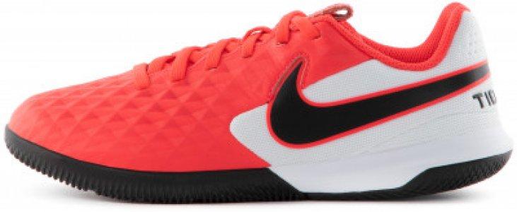 Бутсы для мальчиков Jr. Tiempo Legend 8 Academy, размер 36.5 Nike. Цвет: красный