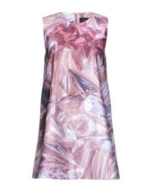 Короткое платье EMMA COOK. Цвет: светло-коричневый