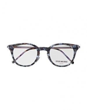Солнечные очки CUTLER AND GROSS. Цвет: свинцово-серый