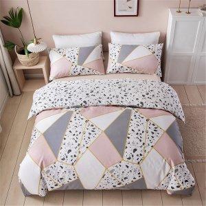 Комплект постельного белья с узором без наполнителя SHEIN. Цвет: многоцветный