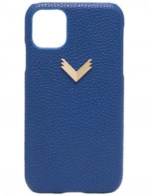 Чехол для iPhone 11/11 Pro из коллаборации с Velante Manokhi. Цвет: синий