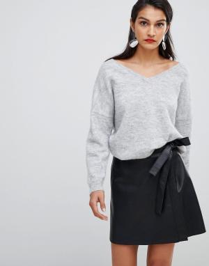 309b704d489 Кожаные юбки купить в интернет-магазине LikeWear.ru