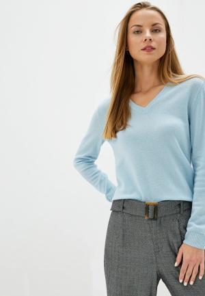 Пуловер United Colors of Benetton. Цвет: голубой