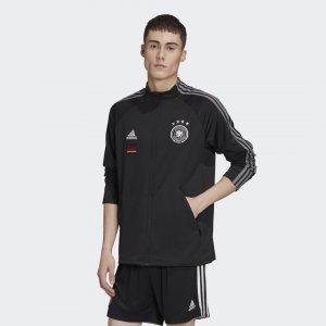 Гимновая куртка сборной Германии Performance adidas. Цвет: черный