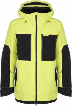 Куртка утепленная мужская Frostner, размер 48-50 Burton. Цвет: желтый