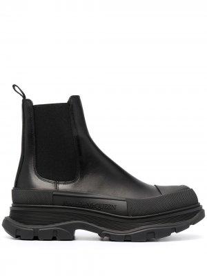 Ботинки челси на утолщенной подошве Alexander McQueen. Цвет: черный