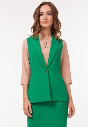 Жилет Vladi Collection. Цвет: зеленый