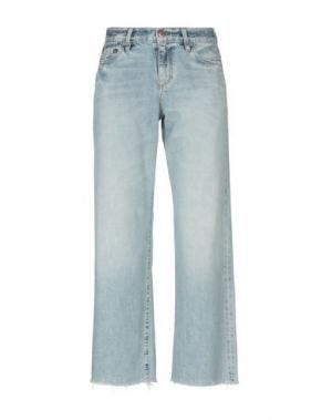 Джинсовые брюки-капри SIMON MILLER. Цвет: синий
