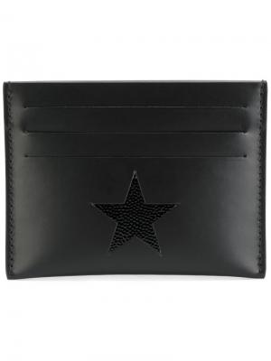 Классическая визитница Givenchy. Цвет: чёрный