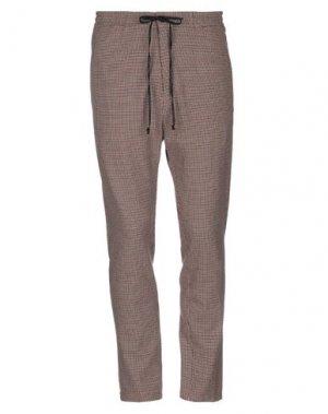 Повседневные брюки DRYKORN. Цвет: коричневый