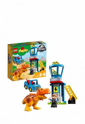 Конструктор Jurassic World LEGO Башня Ти-Рекса 10880. Цвет: разноцветный