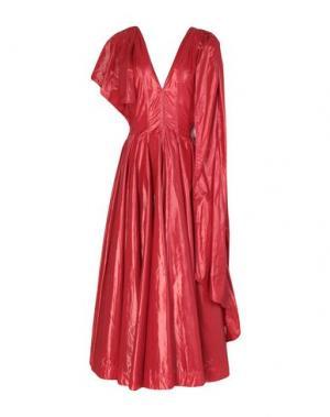 Длинное платье CALVIN KLEIN 205W39NYC. Цвет: красный