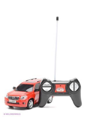 Машина Toyota Land Cruiser Prado, 1:24 KAISER. Цвет: красный, черный