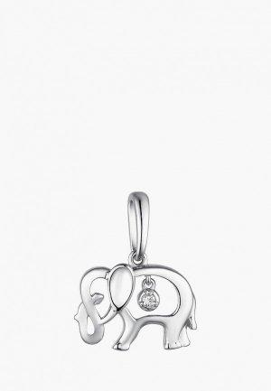 Кулон Алькор. Цвет: серебряный