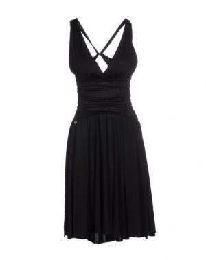 Платье до колена EIGHTH SIN. Цвет: черный