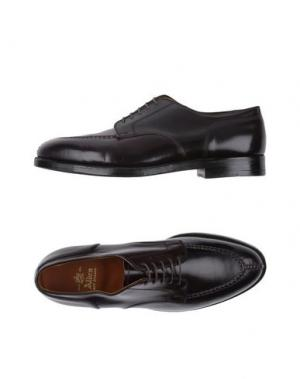 Обувь на шнурках ALDEN. Цвет: красно-коричневый