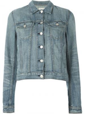 Джинсовая куртка Perfect Wash Rag & Bone. Цвет: синий