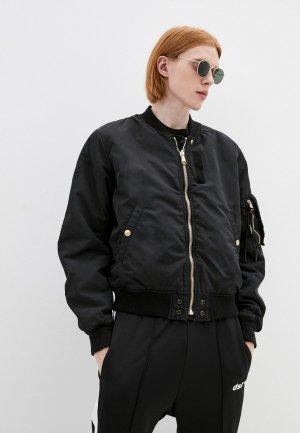 Куртка утепленная Diesel. Цвет: разноцветный