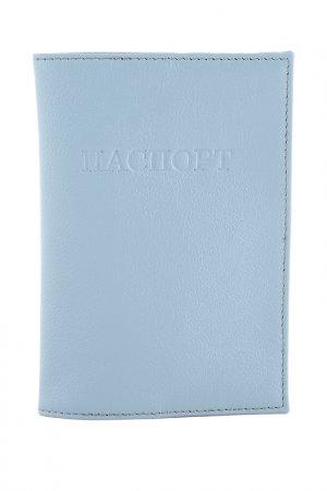 Обложка для паспорта OLCI. Цвет: голубой