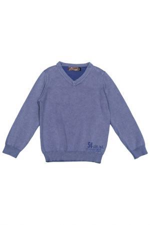 Пуловер JEAN BOURGET. Цвет: синий