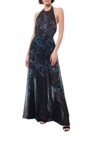 Платье Elie Saab. Цвет: синий