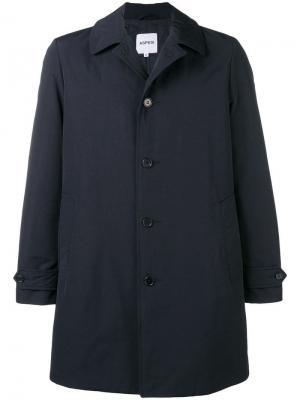 Пальто свободного кроя Aspesi. Цвет: синий