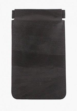 Ключница Alexander Tsiselsky Kluva, 8.5х14 см. Цвет: черный