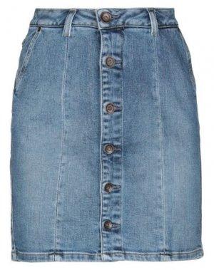 Джинсовая юбка GARCIA. Цвет: синий