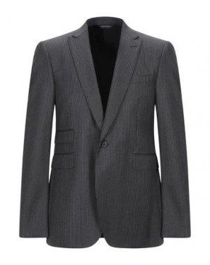 Пиджак COSTUME NATIONAL HOMME. Цвет: стальной серый