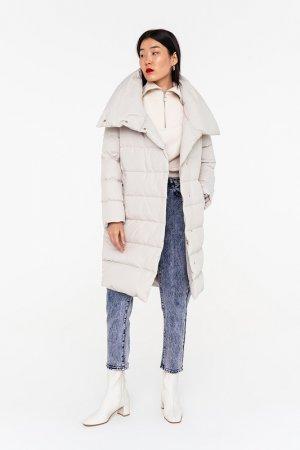 Пальто befree. Цвет: 61, кремовый, светло-бежевый