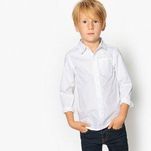 Рубашка La Redoute. Цвет: белый