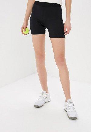 Шорты спортивные Nike NikeCourt Dri-FIT Power Womens 4 Tennis Shorts. Цвет: черный