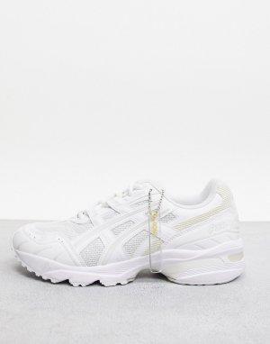 Белые кроссовки asics SportStyle 1090-Белый