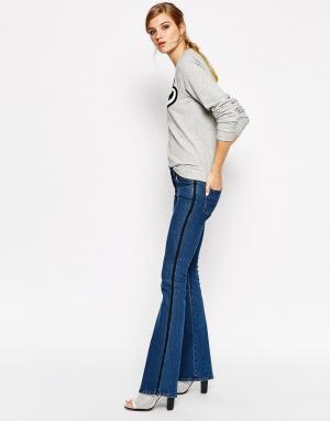 Расклешенные джинсы Tilda American Retro