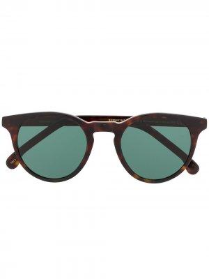 Солнцезащитные очки Archer черепаховой расцветки PAUL SMITH EYEWEAR. Цвет: коричневый