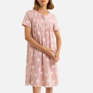 Сорочка La Redoute. Цвет: розовый