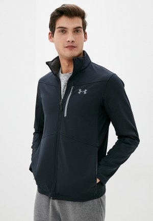 Куртка Under Armour FC Softshell Black / Graphite. Цвет: черный