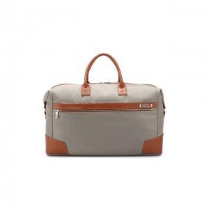 Дорожная сумка E-Lite Roncato. Цвет: серый